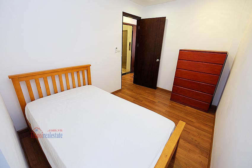 Cozy Furnished Apartment for rent in Linh Lang Street, high floor, elevator 14