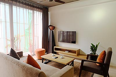 Cozy serviced apartment in Ba Dinh Dist, quiet alley
