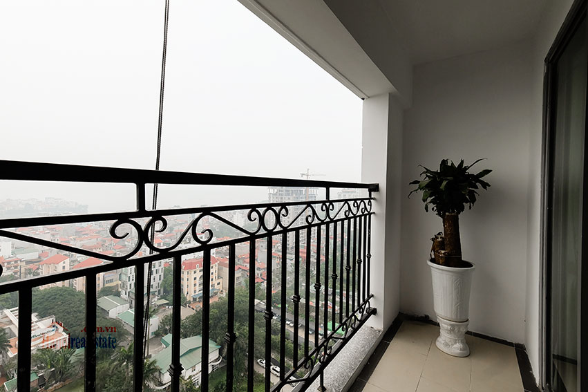 D'. Le Roi Soleil: City view 03BRs serviced apartment on Xuan Dieu Rd, balcony 13