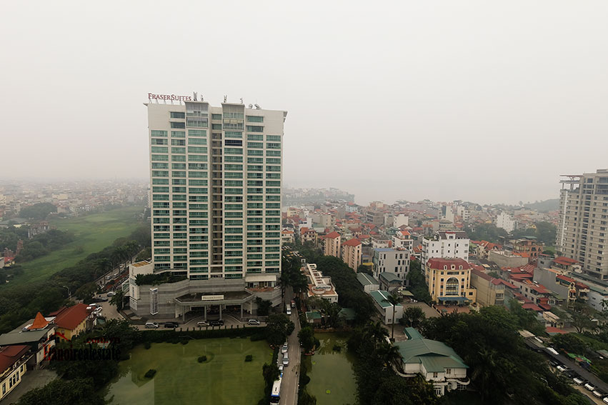 D'. Le Roi Soleil: City view 03BRs serviced apartment on Xuan Dieu Rd, balcony 14