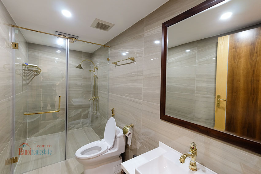 D'. Le Roi Soleil: City view 03BRs serviced apartment on Xuan Dieu Rd, balcony 15