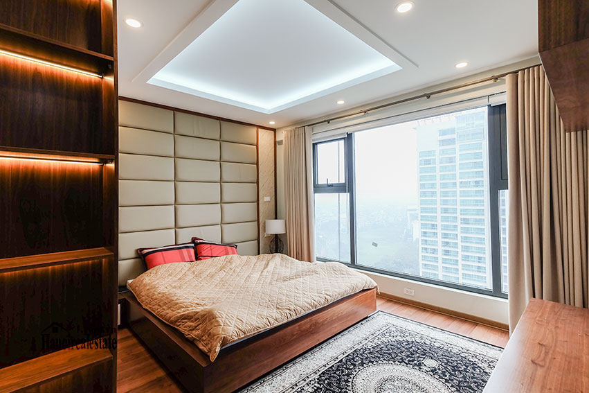D'. Le Roi Soleil: City view 03BRs serviced apartment on Xuan Dieu Rd, balcony 21