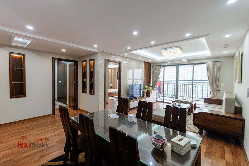 D'. Le Roi Soleil: City view 03BRs serviced apartment on Xuan Dieu Rd, balcony 3
