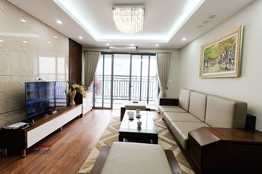 D'. Le Roi Soleil: City view 03BRs serviced apartment on Xuan Dieu Rd, balcony 4