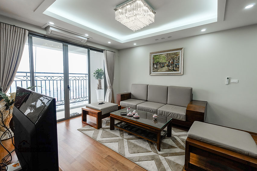 D'. Le Roi Soleil: City view 03BRs serviced apartment on Xuan Dieu Rd, balcony 5