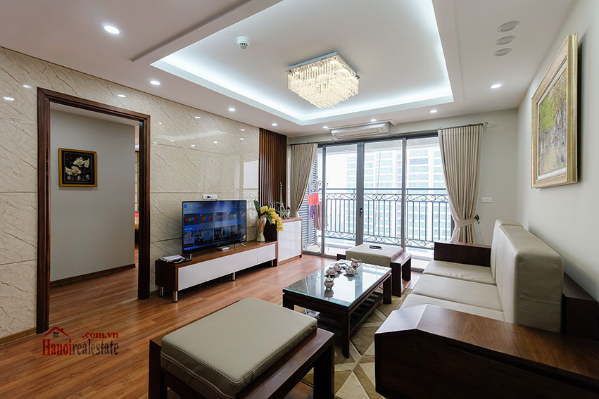 D'. Le Roi Soleil: City view 03BRs serviced apartment on Xuan Dieu Rd, balcony 6