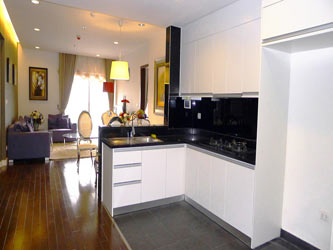 Lancaster Hanoi | Deluxe 3 Bedroom Apartment for rent in Ba Dinh, Hanoi