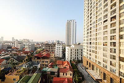 D'Le Roi Soleil: Elegant 03BRs apartment with awesome city view