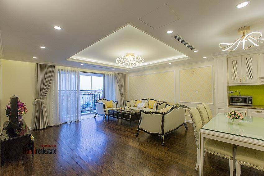 D'Le Roi Soleil: Luxurious 03BRs apartment, fully furnished 2