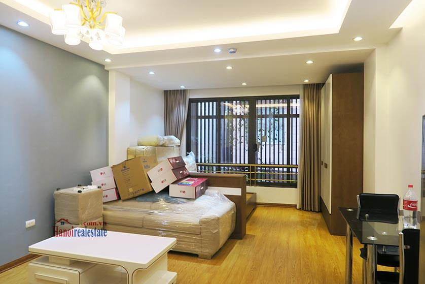 Dong Da District: Brand new spacious studio, near Hoang Cau lake 6
