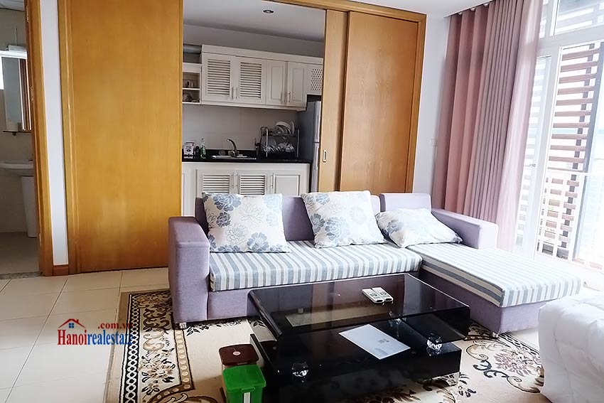 Duplex 02BRs apartment to let in Ba Dinh walking distance to Lotte Tower 3
