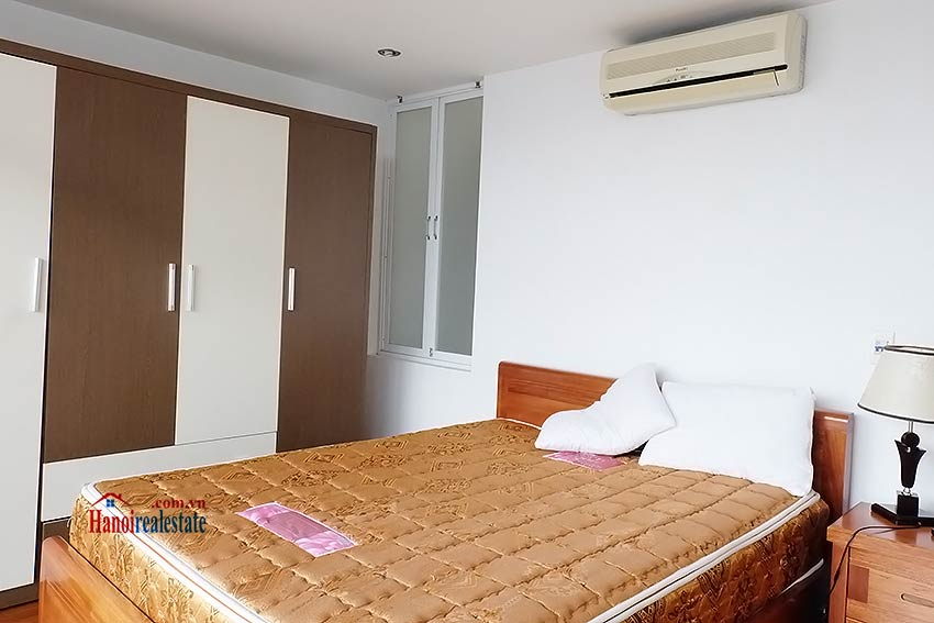 Duplex 02BRs apartment to let in Ba Dinh walking distance to Lotte Tower 8