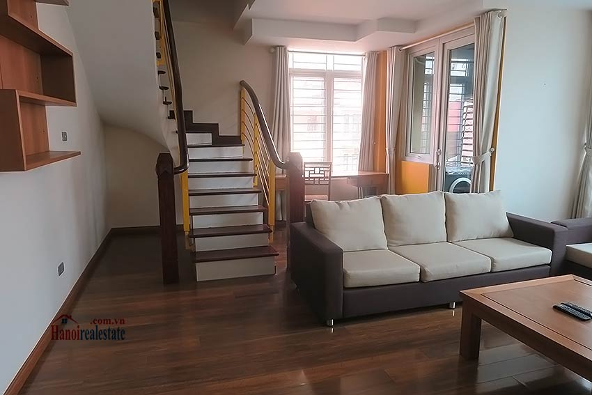 Duplex apartment in Ba Dinh for rent, 02 bedrooms 3