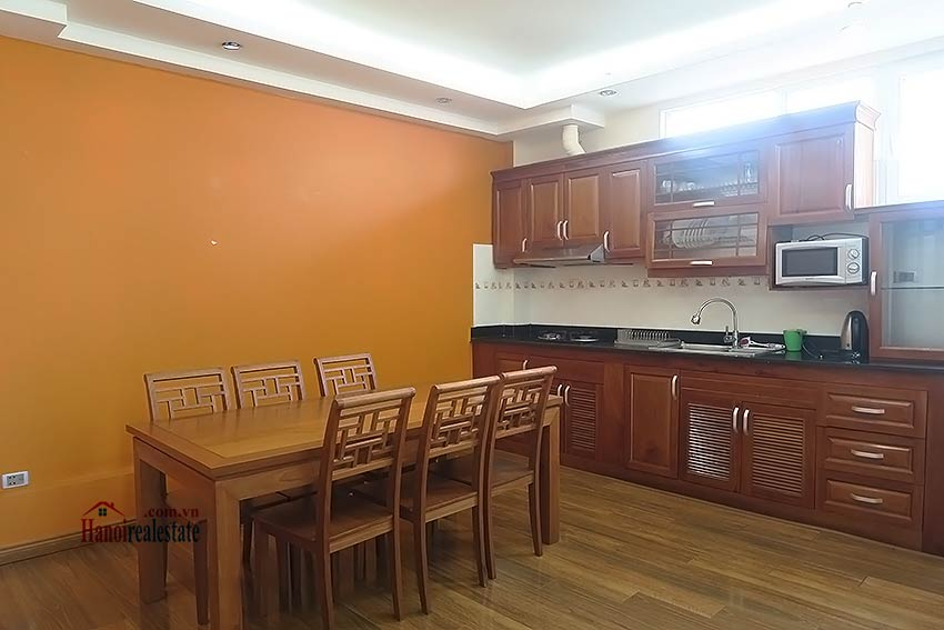 Duplex apartment in Ba Dinh for rent, 02 bedrooms 4