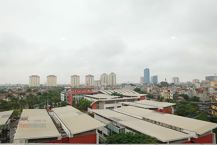 E5 Ciputra: Fully furnished 04BRs apartment, balcony 13