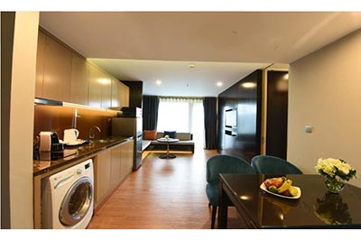 Elegant 03BRs serviced apartment at Novotel Suites Hanoi, Cau Giay District
