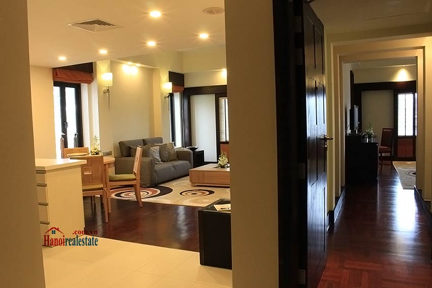 Elegant 03BRs serviced apartment for rent at Intercontinental Westlake 2