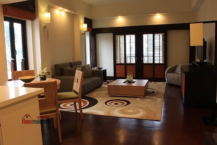 Elegant 03BRs serviced apartment for rent at Intercontinental Westlake 6