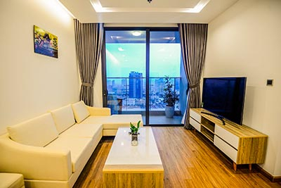 Elegant decoration and brand new 2 bedroom apartment in Metropolis with city view
