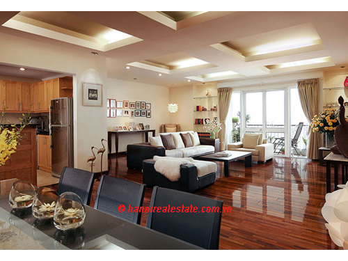 Elegant Suites Hanoi | Three bedroom executive residence 194 sqm plus large Balconies.