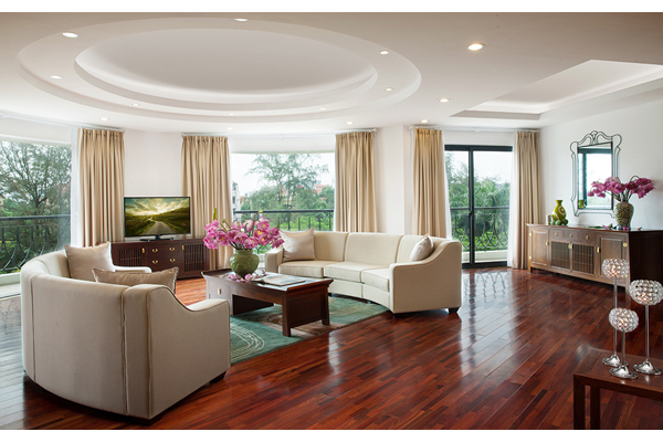 Elegant Suites West Lake Hanoi 3 bed room serviced apartment