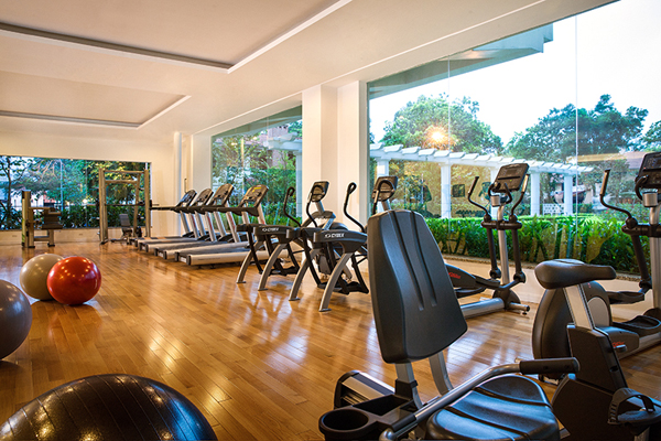 Elegant Suites West Lake Hanoi Gym