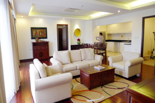 Elegant Suites West Lake Hanoi, 3 bedroom Executive serviced apartment for rent