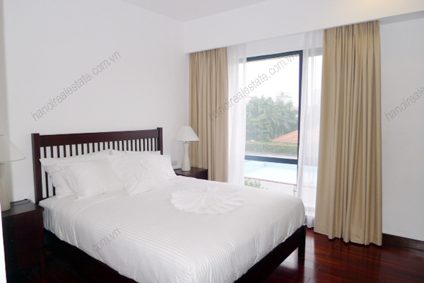 Elegant Suites West Lake Hanoi-Three bed room Executive serviced Apartment for rent 17