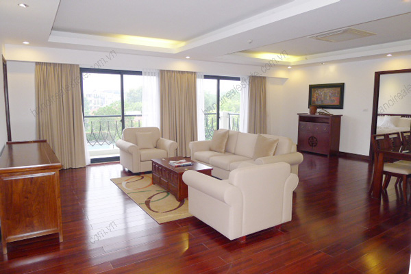 Elegant Suites West Lake Hanoi-Three bed room Executive serviced Apartment for rent 2