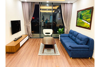 Ngoai Giao Doan: 03BRs apartment on high floor with great view, fully furnished