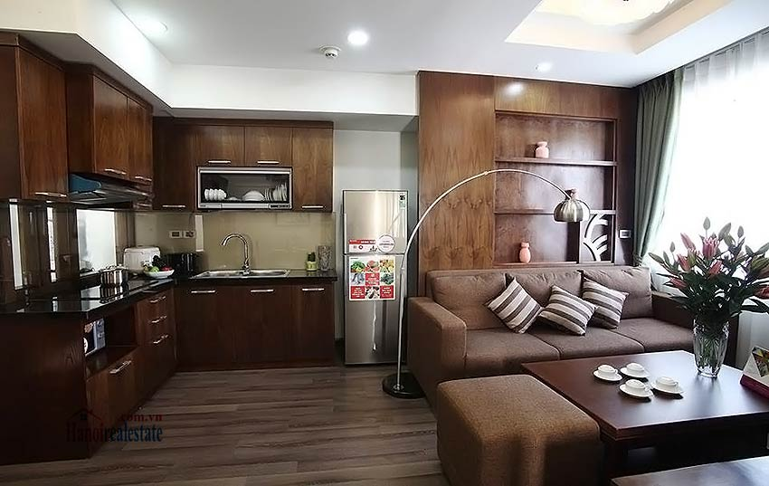Excellent apartment 01BR in Dong Da, 10m walk to Royal City 1