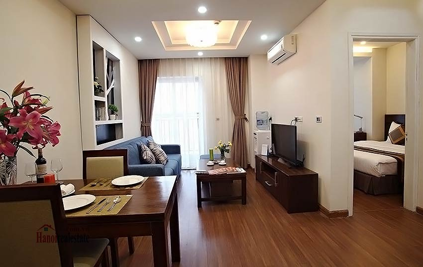 Excellent apartment 01BR in Dong Da, 10m walk to Royal City 5