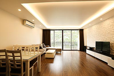 Extremely quite and spacious 02 bedroom apartment on Yen Phu Village
