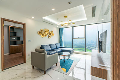 Fabulous Ciputra Golf course view 4-bedroom duplex at Sunshine City