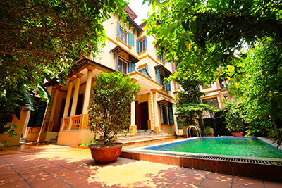 French colonial 06BRs garden villa with swimming pool in Xom Chua