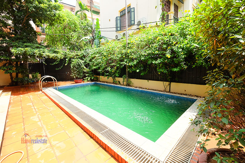 French colonial 06BRs garden villa with swimming pool in Xom Chua 3