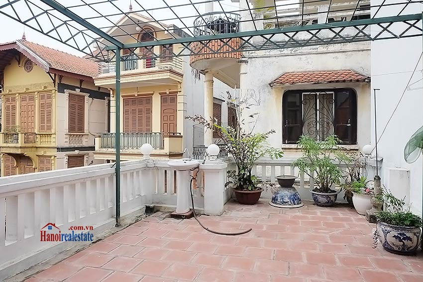 French style 03BRs house in Tay Ho to rent, fully furnished 15