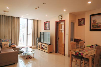 Fully furnished 02BRs apartment at Kim Ma Rd. Ba Dinh Dist, balcony