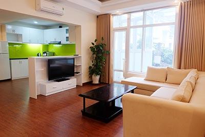 Fully furnished 02BRs serviced apartment at Palm Garden