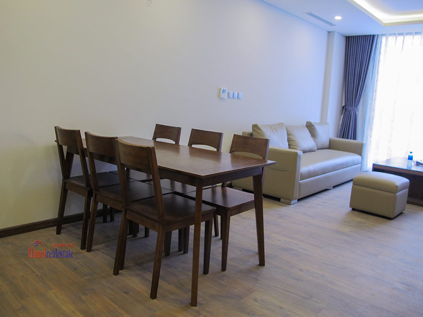 Fully furnished 03BRs apartment in Ngoai Giao Doan, Fully furnished 7