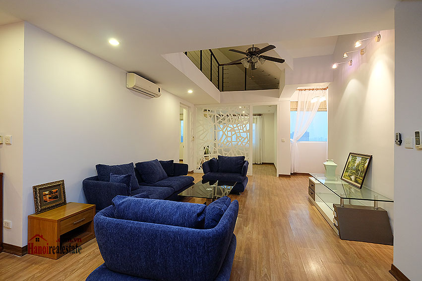 Fully furnished 04BRs duplex penthouse in E5 Ciputra, affordable 1