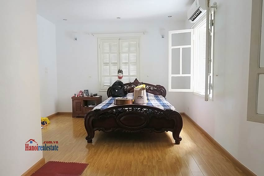 Fully furnished, 04BRs house to rent in Tay Ho, big terrace 11