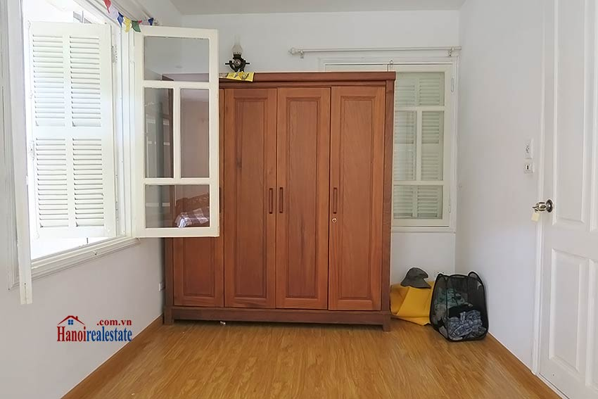 Fully furnished, 04BRs house to rent in Tay Ho, big terrace 12