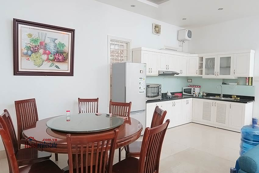 Fully furnished, 04BRs house to rent in Tay Ho, big terrace 6