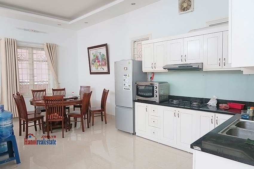 Fully furnished, 04BRs house to rent in Tay Ho, big terrace 7