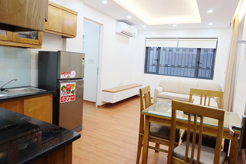 Fully furnished apartment for lease in Dao Tan, Ba Dinh 1