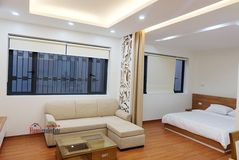 Fully furnished apartment for lease in Dao Tan, Ba Dinh 2