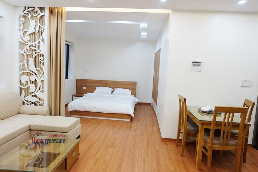 Fully furnished apartment for lease in Dao Tan, Ba Dinh 6