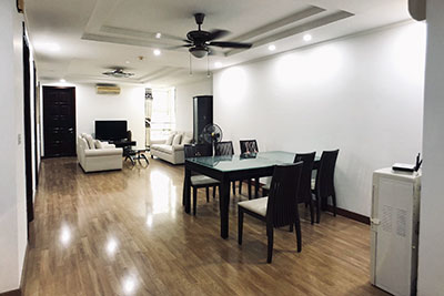 Fully furnished apartment on high floor at G3 Ciputra