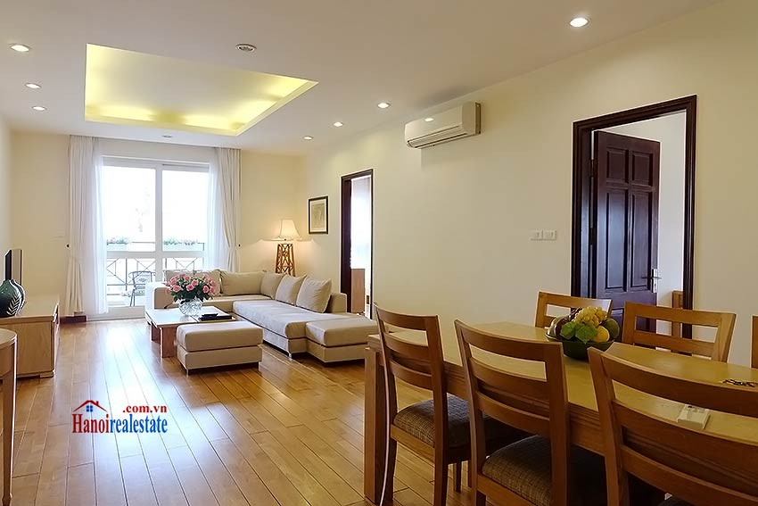 Fully furnished serviced apartment in downtown Hanoi, 2 bedrooms 1